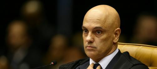 Moraes: plenário do STF decidirá se Bolsonaro deve depor. (Arquivo Blasting News)