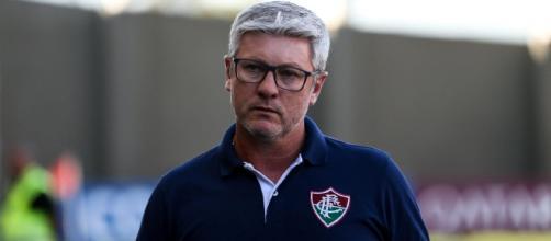 Odair Hellmann comunicou sua saída do Fluminense. (Arquivo Blasting News)