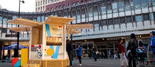 PICNIC propose une solution clé en main avec sa création de Kiosques et Pop-up Stores innovants - ©PICNIC