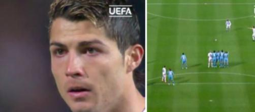 Retour sur le but incroyable inscrit par Cristiano Ronaldo contre l'OM - ©montage capture d'écran video