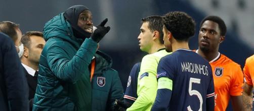 Champions, Psg-Basaksehir sospesa, episodio di razzismo contro Webo, assistente tecnico del club turco.