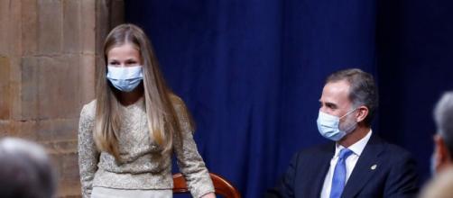Leonor y Felipe VI, el pasado octubre en los Premios Princesa de Asturias / mujerhoy.com