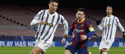 Lionel Messi y Cristiano Ronaldo se volvieron a cruzar en la cancha