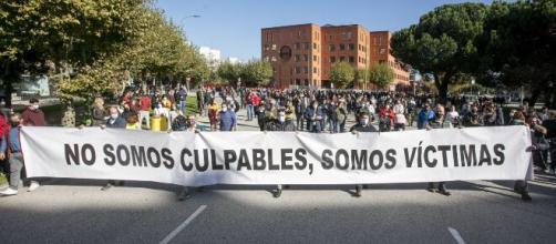 Los hosteleros marchan a Madrid para exigir un rescate al sector