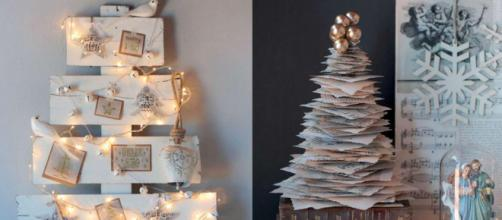 Un árbol de Navidad reciclado es una buena opción para ayudar al planeta
