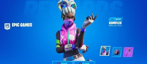 Fortnite rewards players with in-game items for watching stream. [image credits: ShelbyRenae/YouTube screenshot]