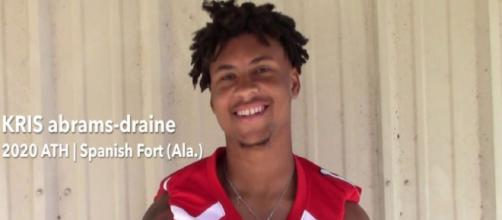 Kris Abrams-Draine isn't going to be a part of Nebraska football [Image via Rivals.com/YouTube]