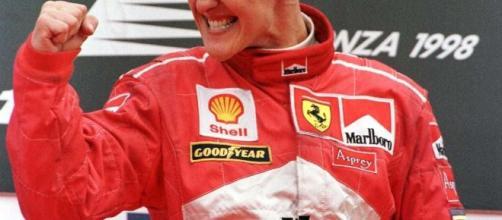 Michael Schumacher, sette volte campione del mondo di F1.