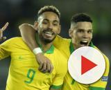 Matheus Cunha e Paulinho marcaram gols que classificaram o Brasil no Pré-Olímpico. (Arquivo Blasting News)