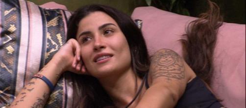 Boca Rosa diz querer se afastar de Guilherme. (Reprodução/TV Globo)