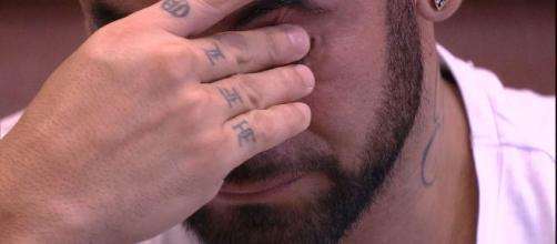 De acordo com Hadson, o certo seria ele e Marcela no paredão. (Reprodução/ TV Globo)