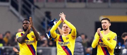 El Barcelona obtiene una victoria y sigue vivo en la Liga Española