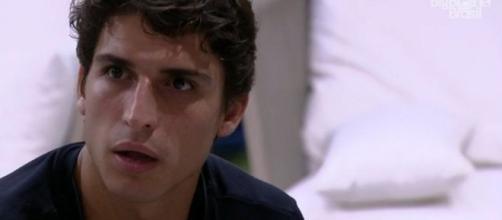 Felipe Prior afirma que alguns participantes devem sair antes dele. (Reprodução/TV Globo)