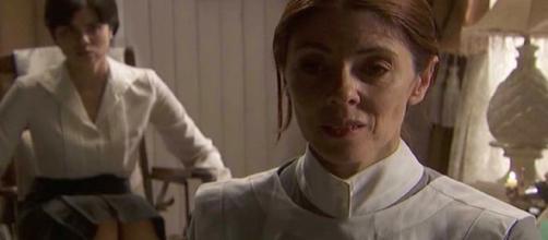 Il Segreto, trame fino al 21 febbraio: Maria somministra un farmaco all'infermiera Dori.