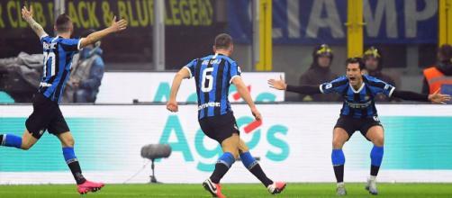 L'inter vince di rimonta sul Milan e torna prima in campionato. Ibra illude un ottimo Milan nel primo tempo