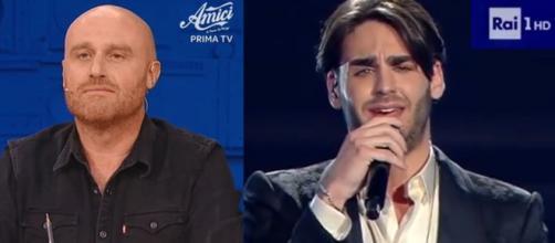 Rudy Zerbi di Amici 18 commenta su Twitter l'ordine d'arrivo di Sanremo e accende la polemica sul 14° posto di Alberto Urso.