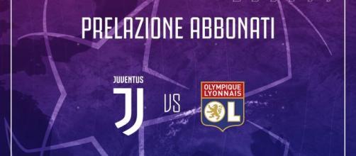 Al via la vendita dei biglietti per Juventus e Olympique Lione
