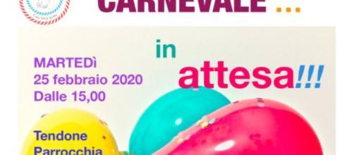 Carnevale....In Attesa - locandina evento