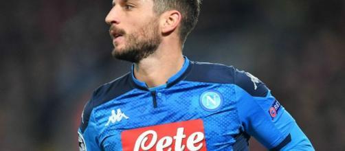 Dries Mertens sarà tra i titolari della semifinale di andata di Coppa Italia Inter-Napoli.