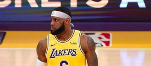 LeBron James dépasse Jordan au nombre de lancers francs réussis (Credit Instagram/kingjames)