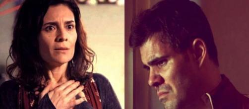 Magno (Juiano Cazarré) passou seis meses na prisão por falsa denúncia de Leila (Ariêta Correa) em 'Amor de Mãe'. (Globo/Reprodução)