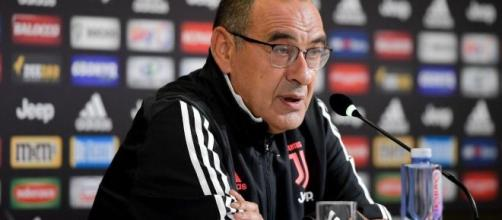 Maurizio Sarri, tecnico della Juventus