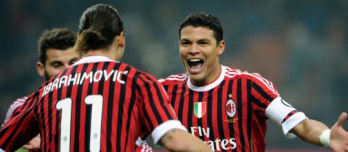 Milan, Thiago Silva e Ibrahimovic insieme