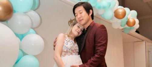 Mulher de Pyong Lee apaga publicações de apoio ao marido no 'BBB20'. (Reprodução/Instagram/@sammylee)