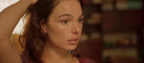 Betina vai conseguir virar sócia da PWA ao se descobrir como meia-irmã de Álvaro em 'Amor de Mãe'. (Reprodução/TV Globo)
