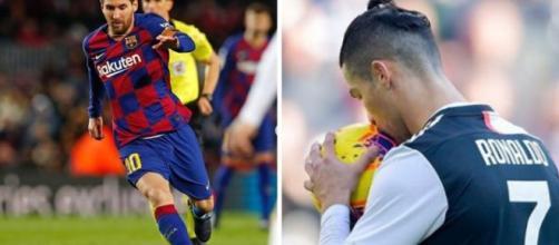 Cristiano Ronaldo es el segundo jugador mejor pagado del mundo. (Reproducción de imágenes a través de Instagram/@cristiano/@leomessi)