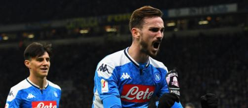 Il Napoli vince l'andata di semifinale della Coppa Italia contro l'Inter grazie al goal di Fabian Ruiz