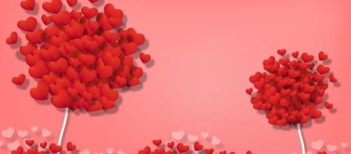 L'oroscopo dell'amore di coppia di San Valentino.