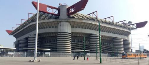 San Siro, teatro dell'andata delle semifinali di Coppa Italia fra Milan e Juventus.
