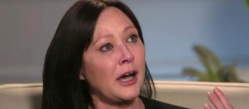 Shannen Doherty is detemined to live to the fullest and tell her own story amid stage IV cancer return. [Image source:ABCNews-YouTube]