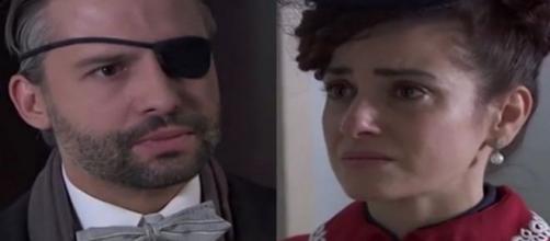 Una Vita anticipazioni al 21 febbraio: Felipe furioso con Trini, Fabiana interrogata