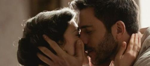 Una Vita, spoiler spagnoli: Lucia e Telmo trascorrano una notte di passione