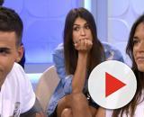 Fiama y Álex, de 'La isla de las tentaciones' en el plató de MYHYV (Telecinco)