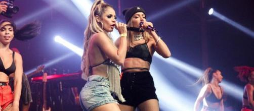 Anitta nega affair com Lexa apontado por jornal. (Arquivo Blasting News)