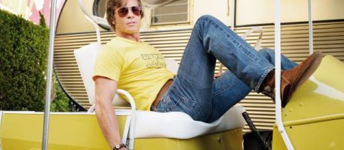 Brad Pitt appears to be taking a break after winning Oscar gold. [Image Credit] Sony Pictures Entertainment/YouTube