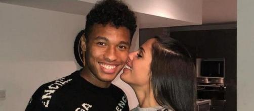 Coralie Porrovecchio et le footballeur Boubacar Kamar vont devenir bientôt parents. ®Instagram