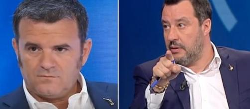 Gian Marco Centinaio e Matteo Salvini.