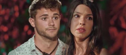 Ismael y Andrea en 'La isla de las tentaciones'