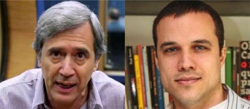 Marco Antonio Villa é suspenso e Felipe Moura Brasil deixa a rádio Jovem Pan. (Arquivo Blasting News)