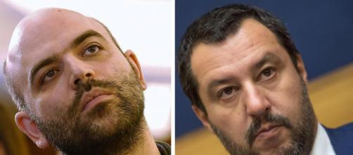Roberto Saviano critica Matteo Salvini sul Caso Gregoretti e il web si divide