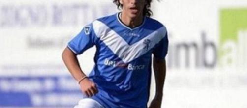 Sandro Tonali, centrocampista del Brescia.