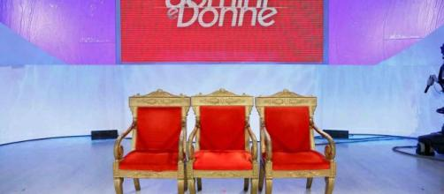 Uomini e Donne - In studio Alfonso Signorini.