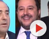 Antonio Di Pietro, Matteo Salvini e Giuseppe Conte.