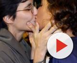 Camila Pitanga beija Beatriz Coelho. (Arquivo Blasting News)