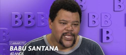 'BBB20': Babu Santana escorrega em estratégia. (Reprodução/TV Globo)