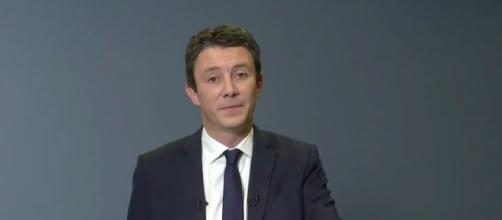 Benjamin Griveaux retire sa candidature après la diffusion d'une vidéo intime. Credit: Capture AFP